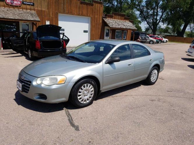 2006 GREEN CHRYSLER SEBRING (1C3EL46XX6N) with an 2.4L engine, Automatic transmission, located at 495 Old Highway 20 West, South Sioux City, NE, 68776, (402) 494-2677, 42.458408, -96.443512 - Photo #0