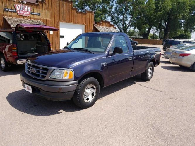 2001 BLUE FORD F150 (2FTRF17W91C) with an 4.6L engine, Automatic transmission, located at 495 Old Highway 20 West, South Sioux City, NE, 68776, (402) 494-2677, 42.458408, -96.443512 - Photo #0